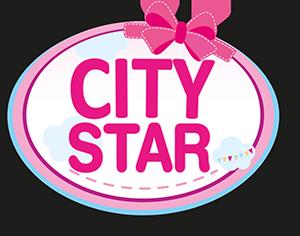 Dolls Pram City Star, purple