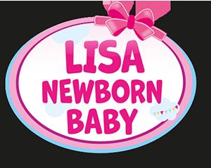 Lisa Newborn Baby with diaper