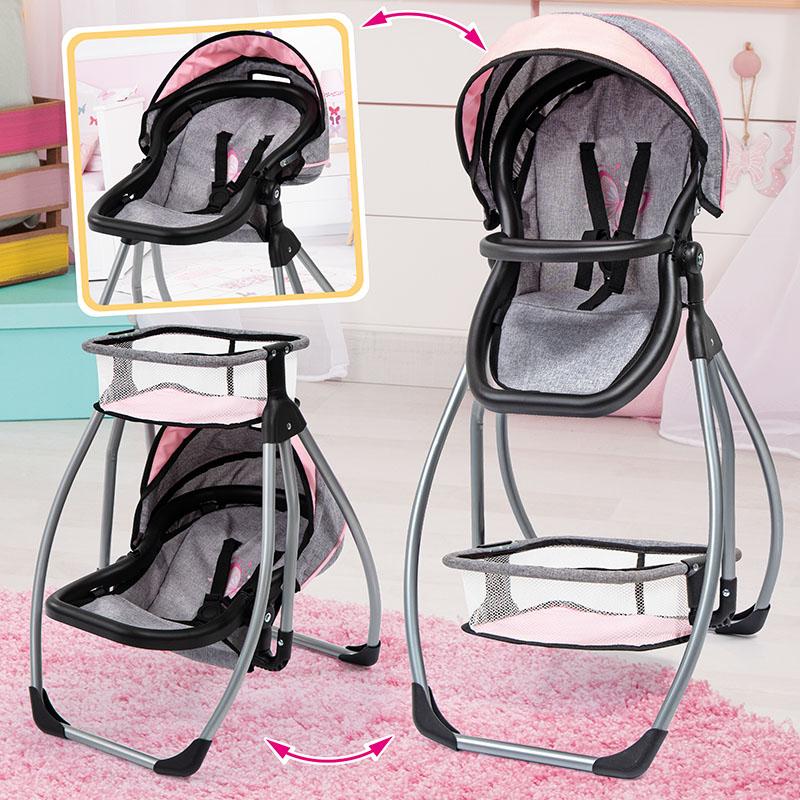 Chaises hautes de poupée