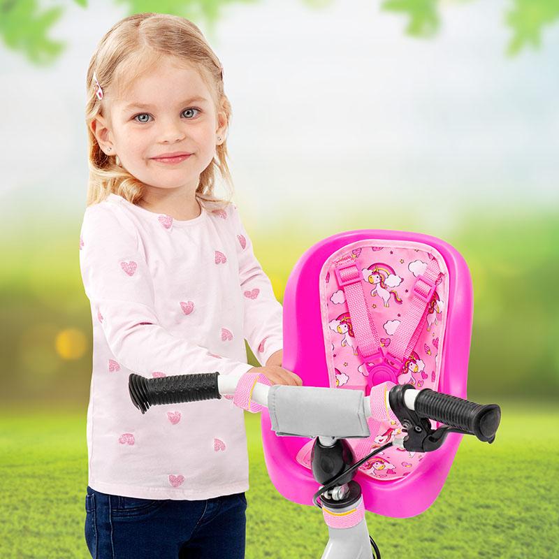Siège de vélo pour poupées