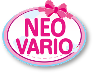 Niebieski wózek dla lalek Neo Vario
