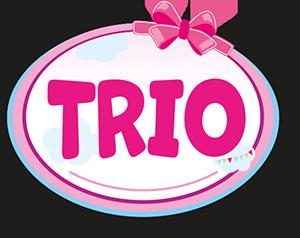 Krzesełko do karmienia Trio dolls