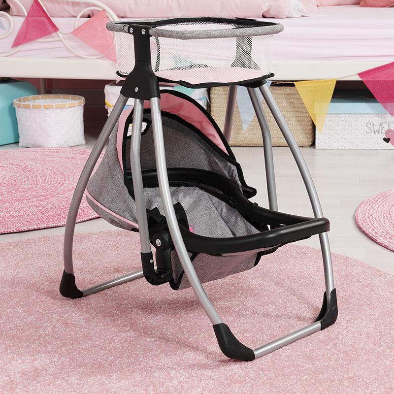 Krzesełko dla lalek z wieloma opcjami regulacji