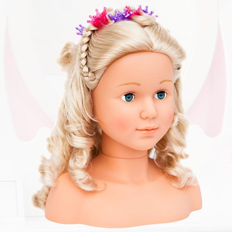 Super Model Frisur mit Haarclips