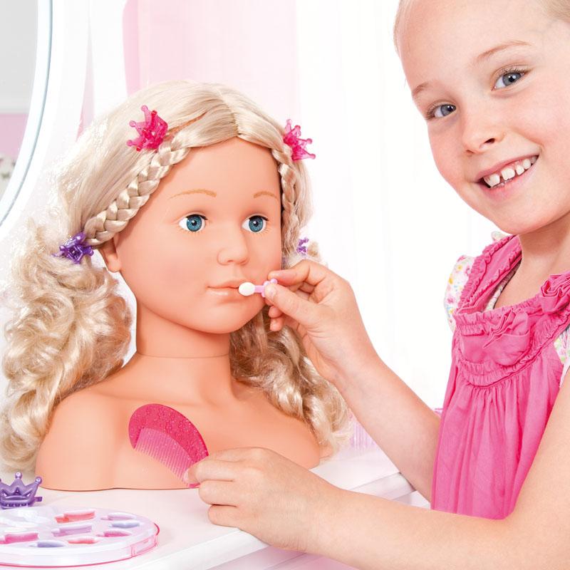 Super Model Schminkkopf mit passendem Make-up