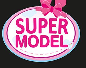 Super Model mit Kosmetik