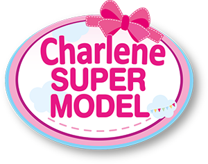 Charlene Super Model mit Kosmetik