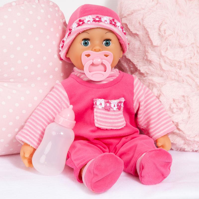 First Words Baby kann sitzen und liegen