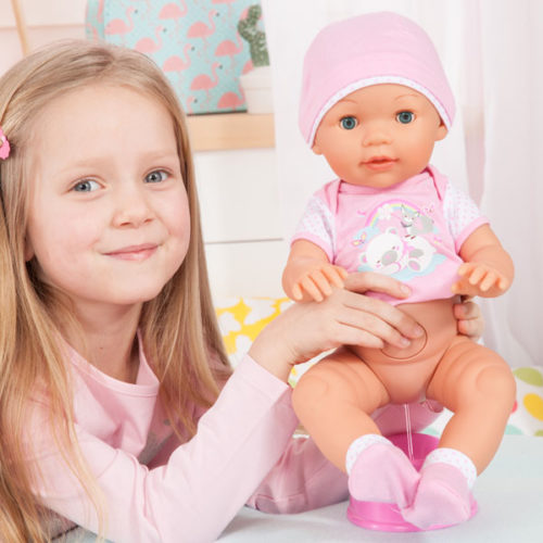Bayer Design Piccolina Love Festkörper Puppe