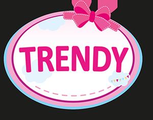Puppenwagen Trendy dunkelblau