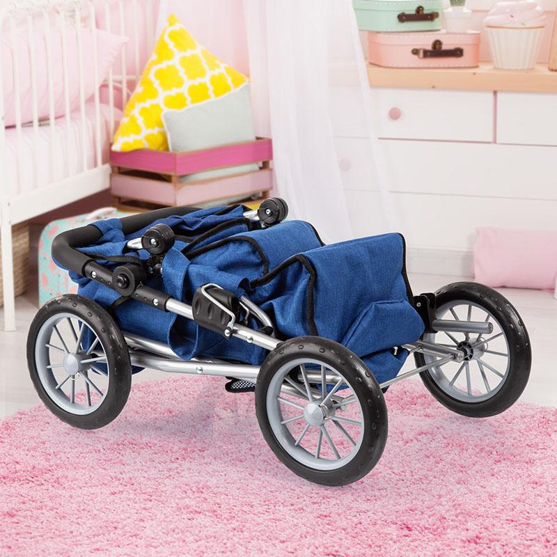 Puppenwagen City Star ist zusammenklappbar