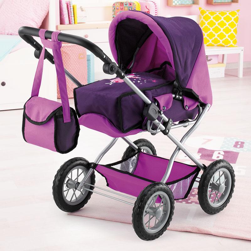 Puppenwagen Grande mit verstellbarem Griff