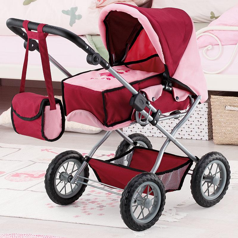 Kombi-Puppenwagen Grande mit Umhängetasche