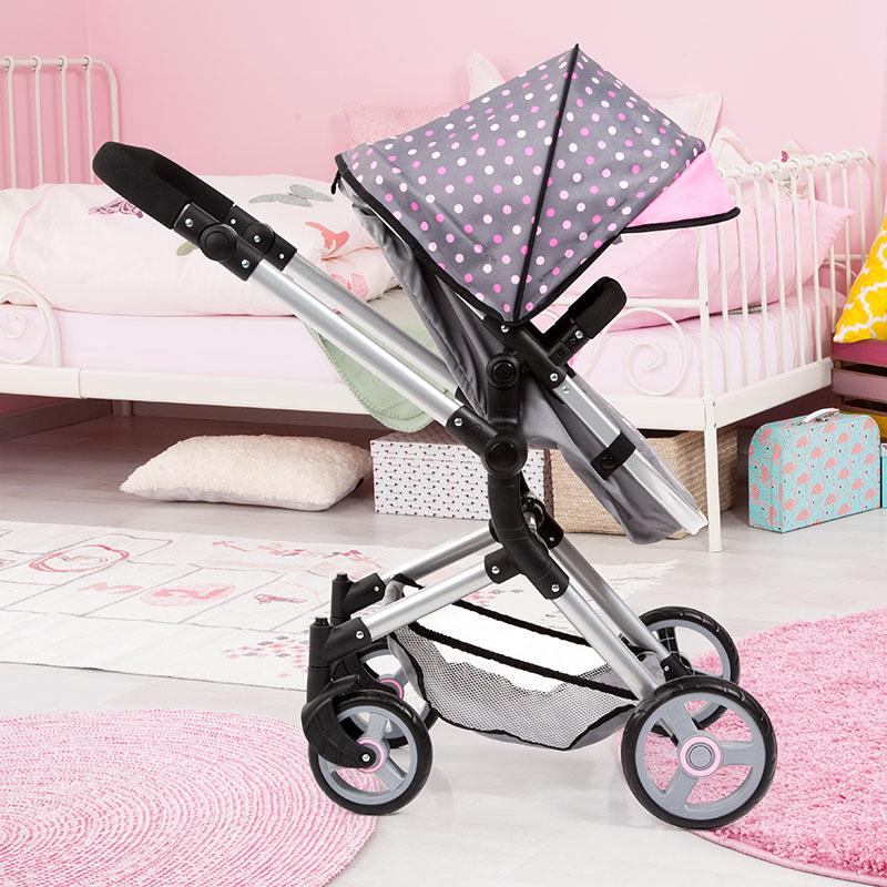 Puppenwagen Neo Vario mit Schwenkbarem Schieber