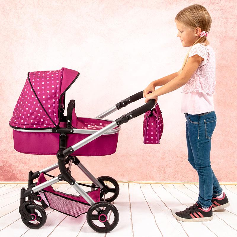 Puppenwagen Neo Vario mit Leichtlaufrädern