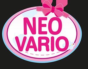 Kombi-Puppenwagen Neo Vario lila