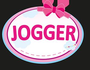 Puppen-Jogger Sport mit Einhorn