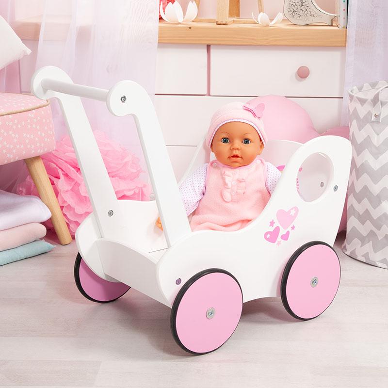 Lauflernwagen für Puppen bis 46cm