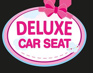 Puppen-Autositz mit Dach