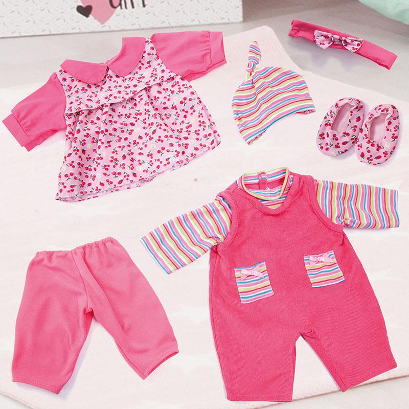 Deluxe Kleider-Set passen für viele Puppen