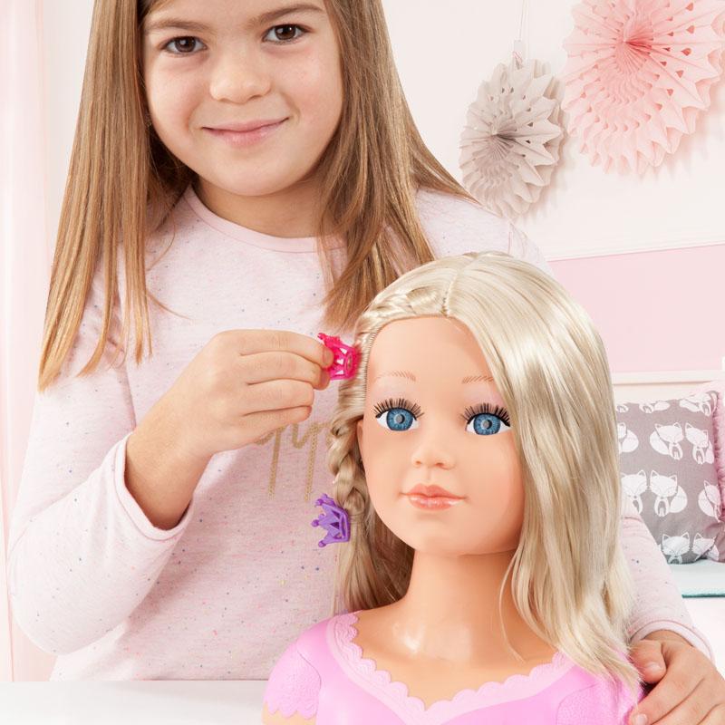 Charlene Super Model Frisierkopf jeden Tag eine neue Frisur