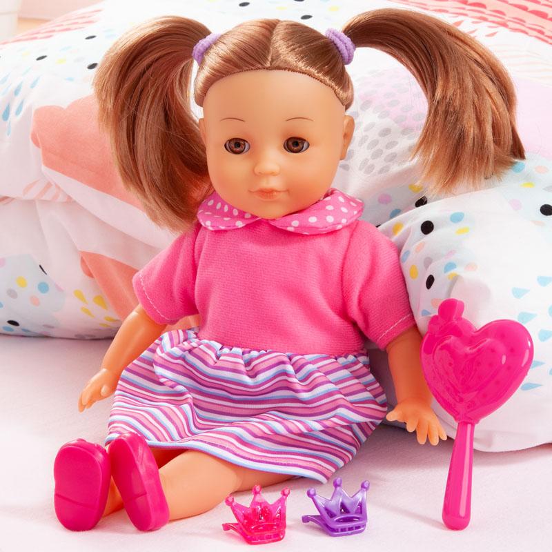 Charlene Little Love mit Bürste und Haarclips