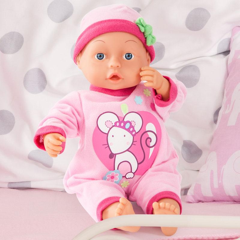 First Words Baby Puppe mit Weichkörper
