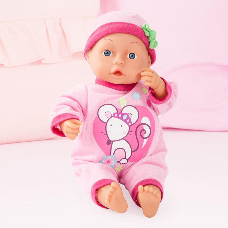 First Words Baby Puppe ist immer mit dabei