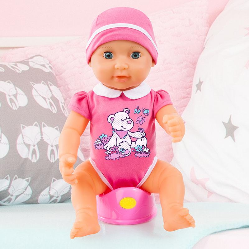 Piccolina Newborn Baby mit magischem Töpfchen