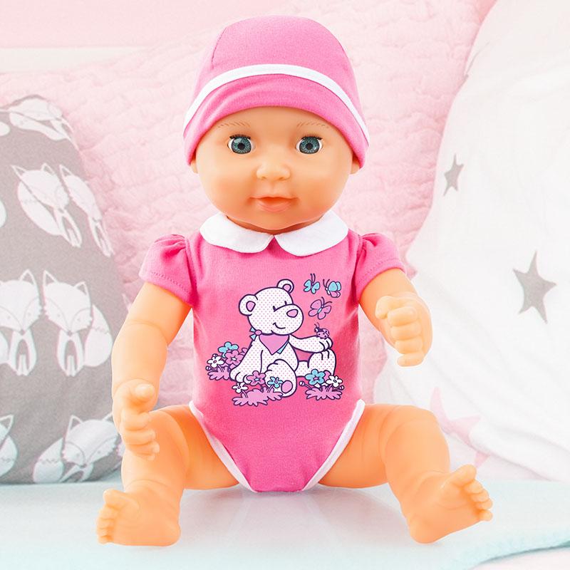 Piccolina Newborn Baby ist sehr beweglich