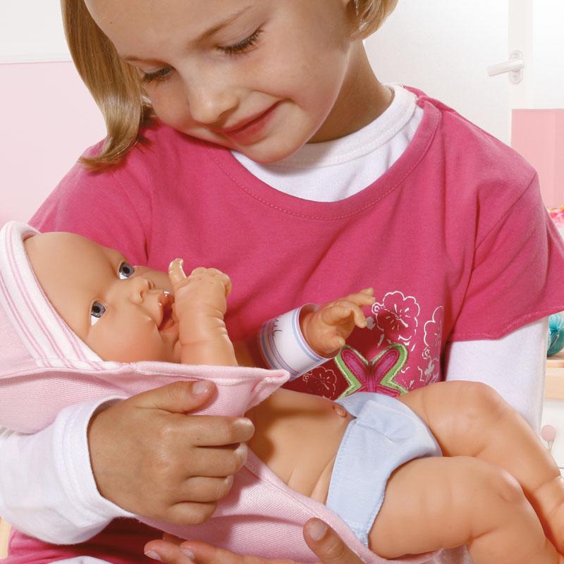 Newborn Baby spielerisch lernen