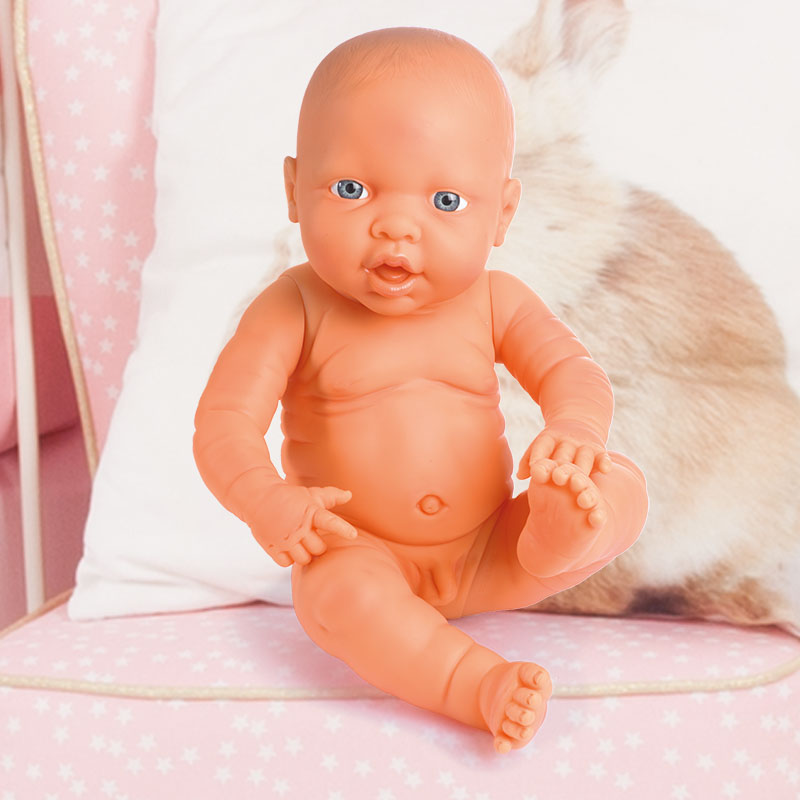 Newborn Baby mit realistischem Körper