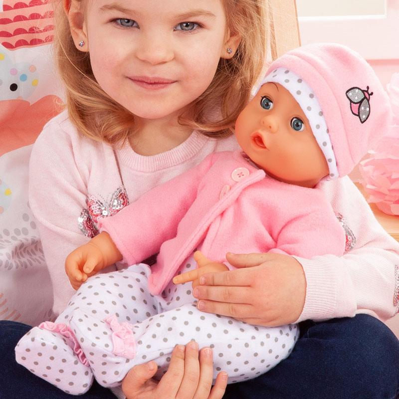 Baby Lisa Weichkörperpuppe mit Funktionen