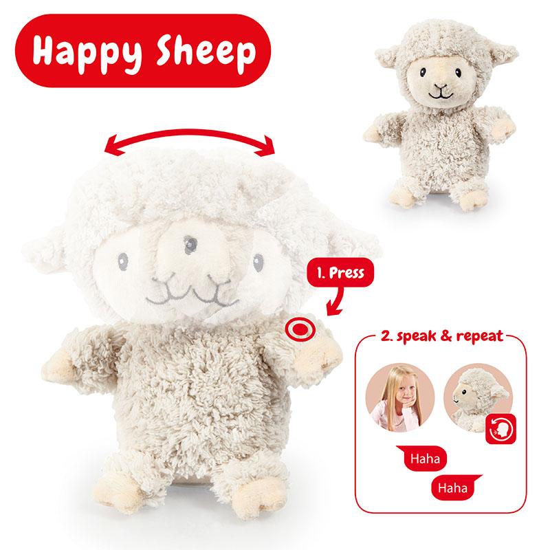 Sonni Happy Schaf wackelt mit dem Kopf