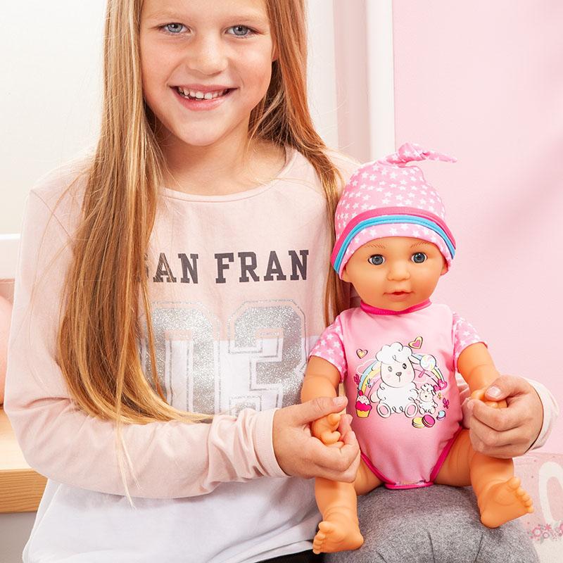 Lisa Newborn Baby ist ideal für Rollenspiele geeignet