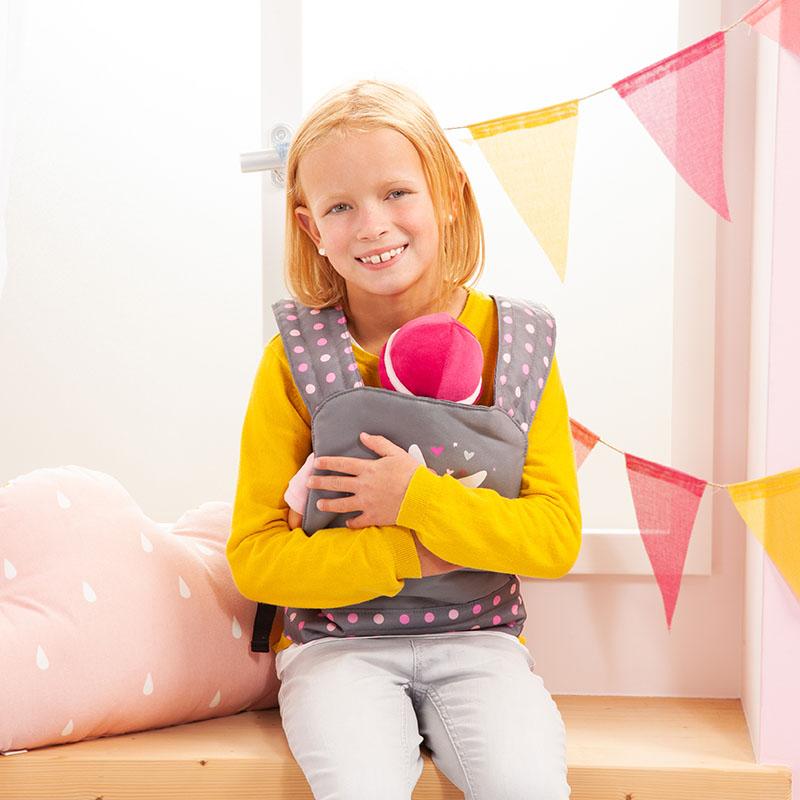 Puppen-Tragegurt geeignet für Puppen und Plüschtiere.