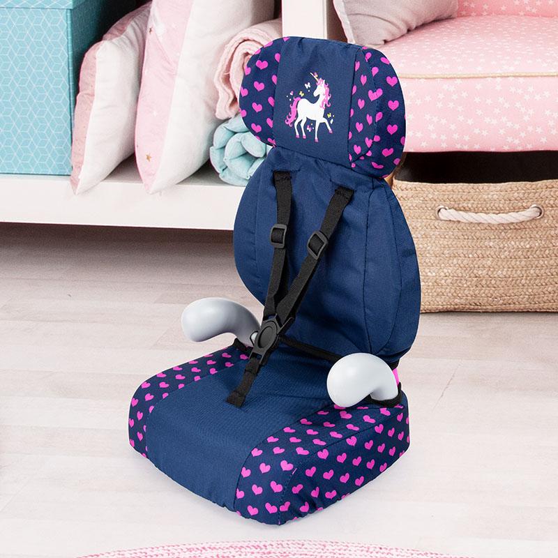 Puppen-Autositz mit ergonomisch geformtem Griff