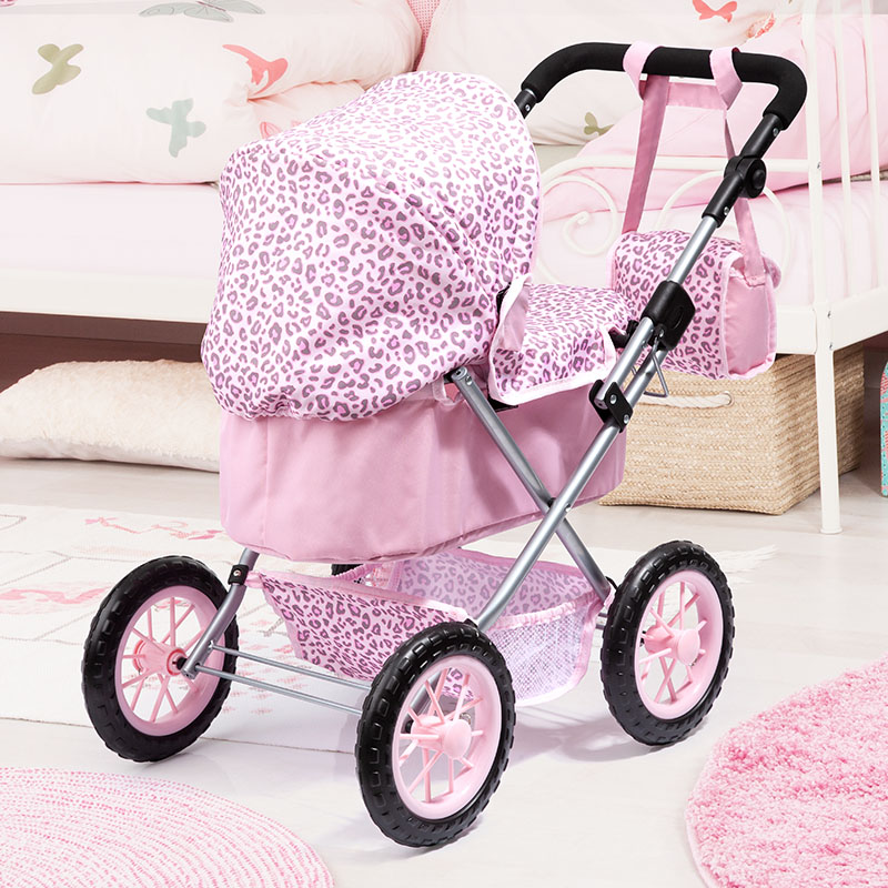 Doll pram Trendy is foldable