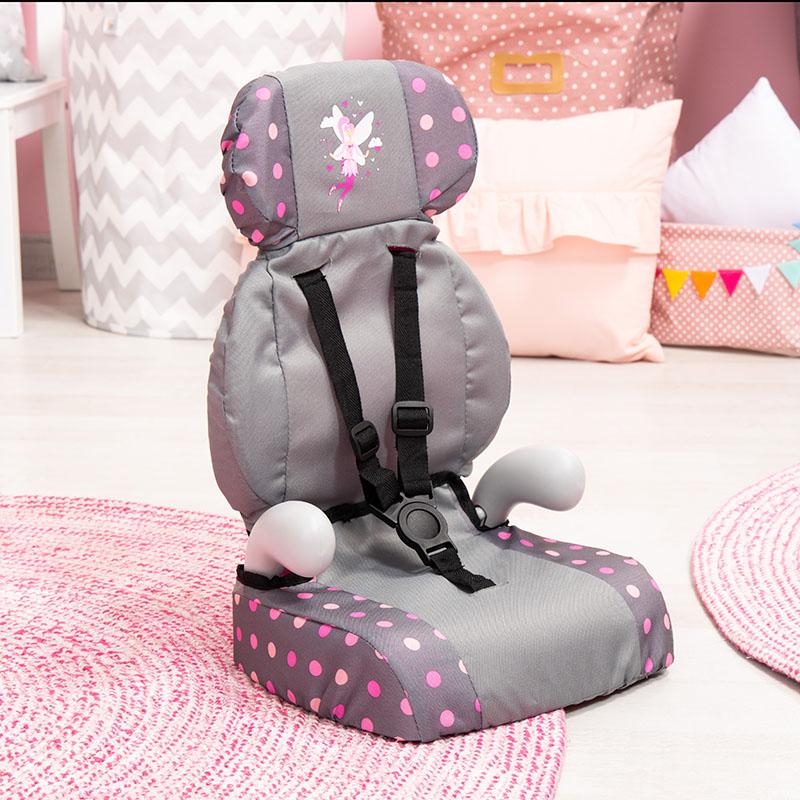 Puppen Autositz Deluxe für angenehmes Sitzen,