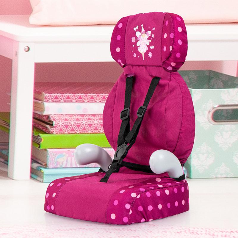 Puppen-Autositz mit Gurt