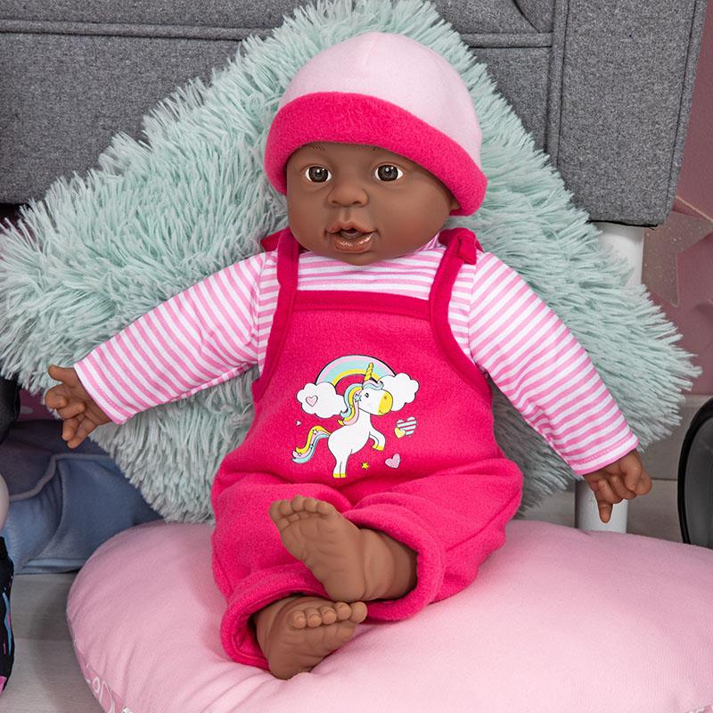 Interactive Baby Babypuppe mit schönen Outfit