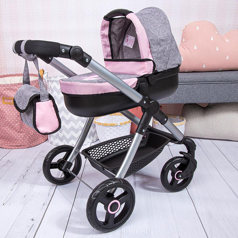 Puppenwagen Style für Puppen bis 46cm