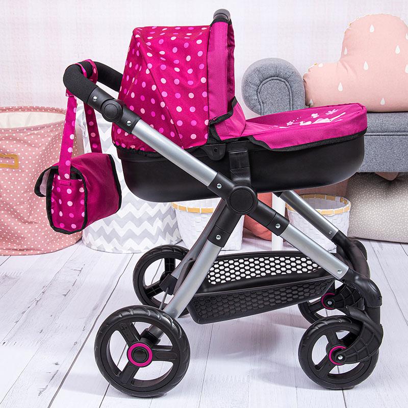 Puppenwagen Style mit integrierten Einkaufskorb