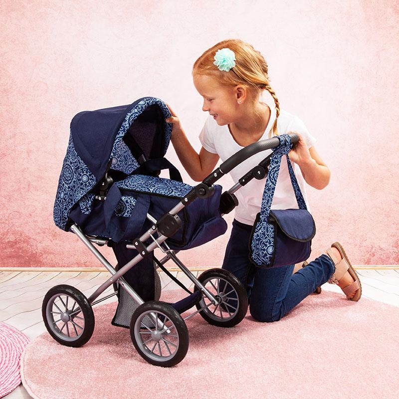 Puppenwagen City Star mit verstellbarem Griff