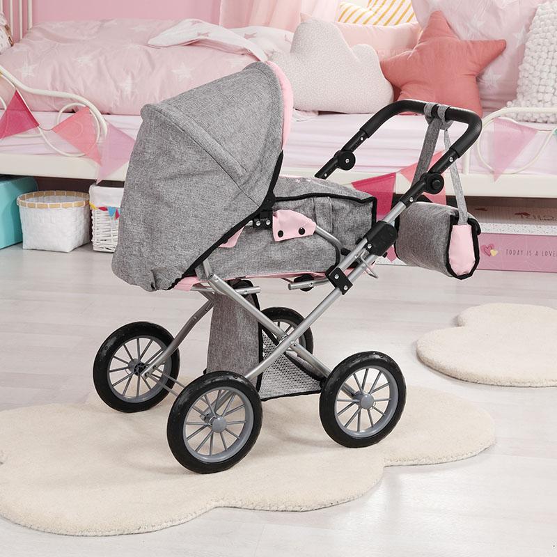 Puppenwagen City Star mit Leichtlaufrädern