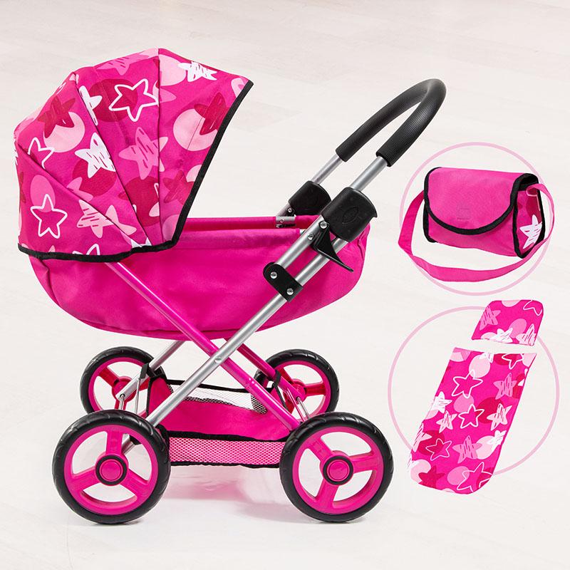 Das topmoderne Design von Puppenwagen Cosy.