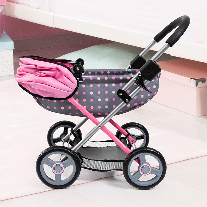 Puppenwagen Cosy mit Leichtlaufrädern
