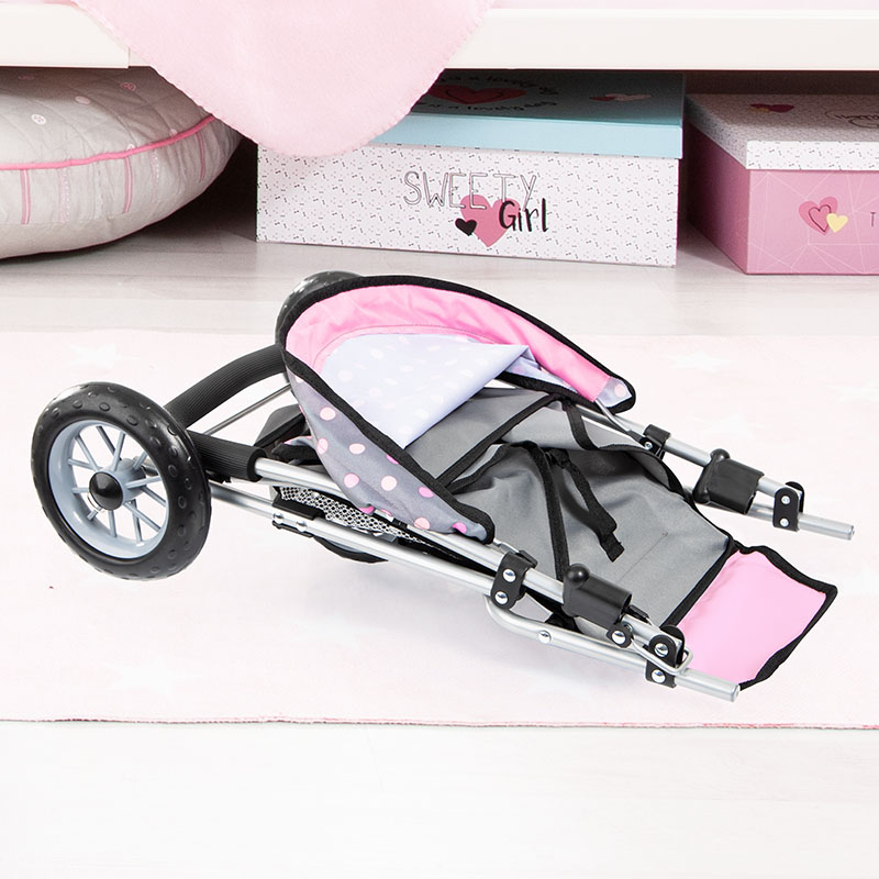Puppenwagen City Neo mit Einkaufskorb