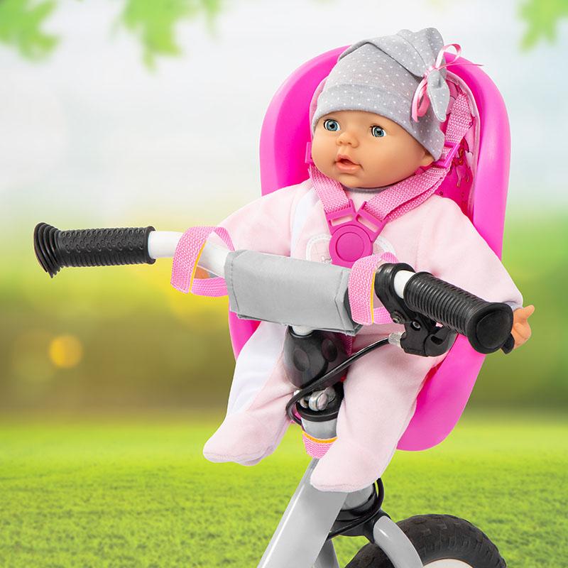 Fahrradsitz für Puppen